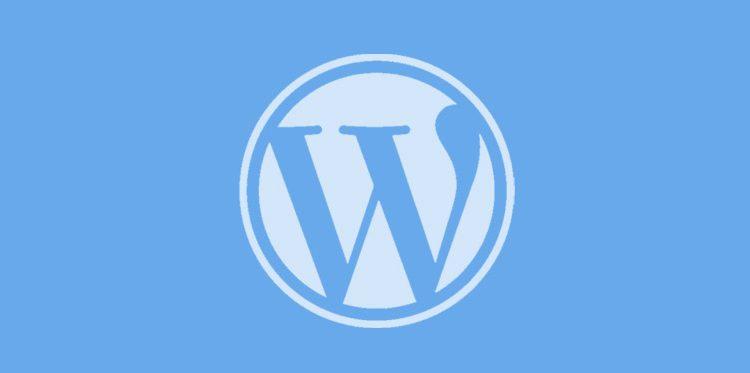 wordpress logo banner
