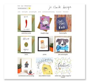 jo clark design website design and development