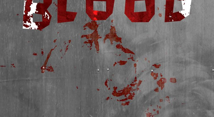everyone is out for blood illustrated vampire poster
