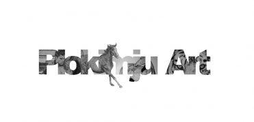 plokimju art freelance artist logo wordmark