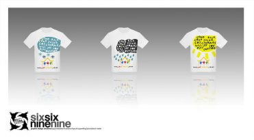 custom illustrated promotional tshirt designs