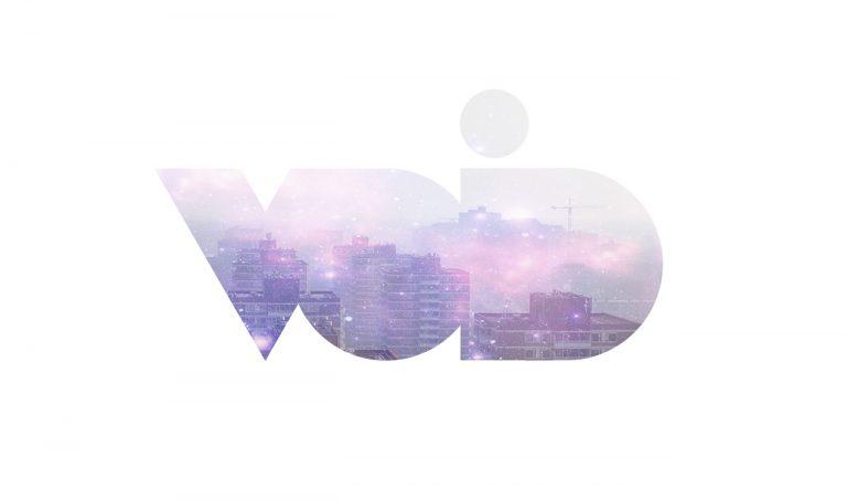 void negative space logo design