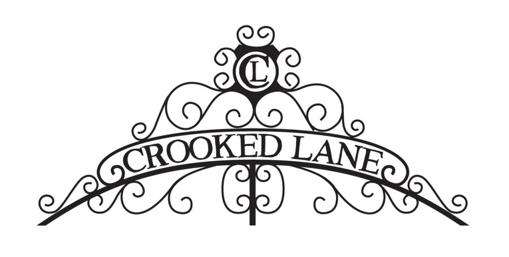 crooked lane independent publisher logo design mono