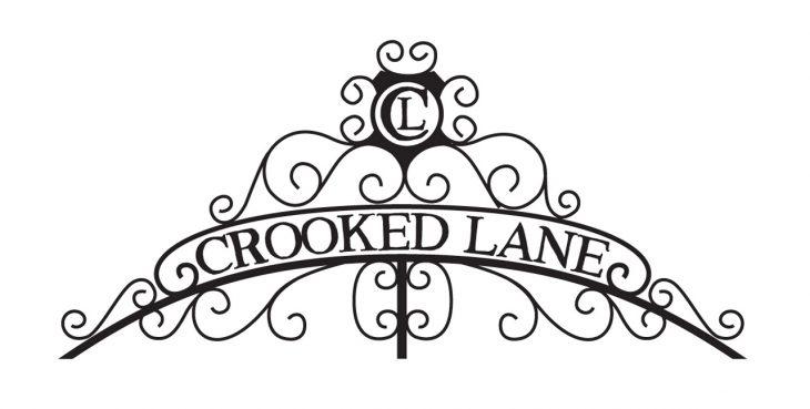 crooked lane independent publisher logo design mono