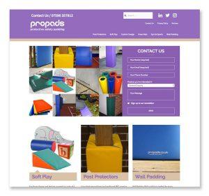propads website design and development