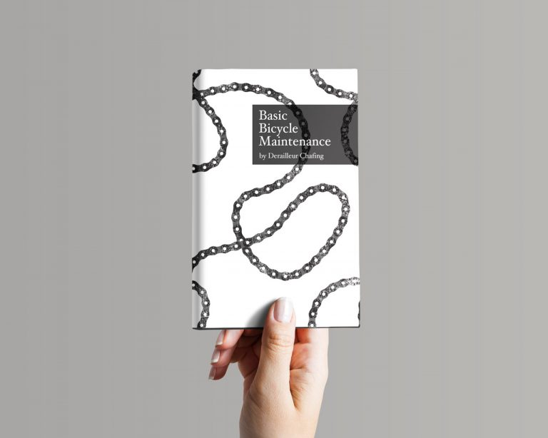 bike chain book cover deisgn