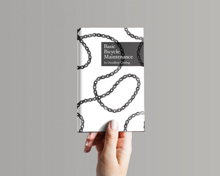 bike chain book cover deisgn