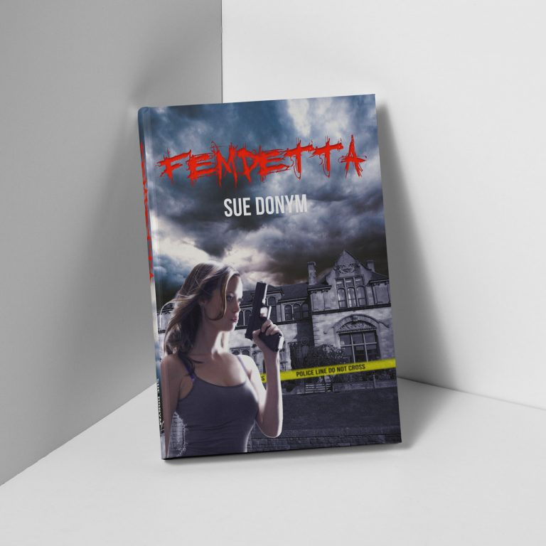 femdetta book cover design for self-published fiction