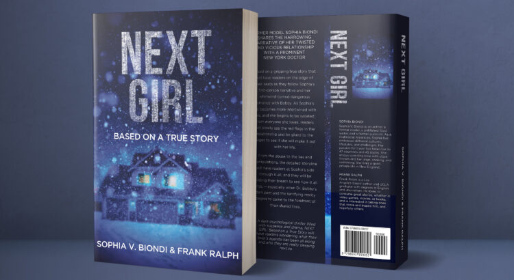 next girl book cover product shot