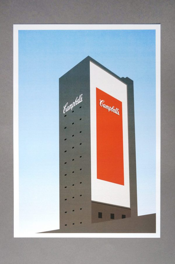 campbell's tower print product shot